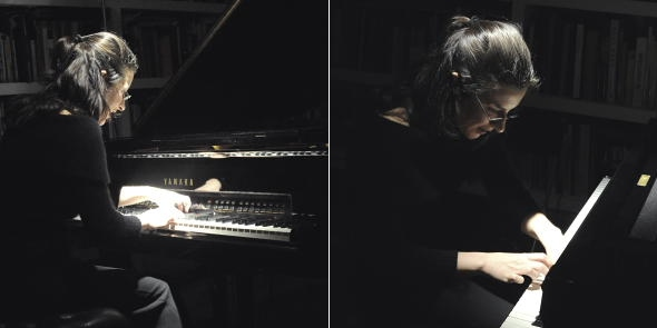 MARTA DISFRUTANDO DE UN PIANO CON ALMAS. FOTO © ELENA MARTÍN BARCE