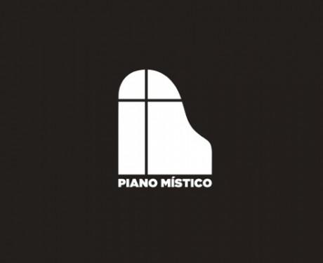 LOGO PIANO MISTICO BN - Versión 2