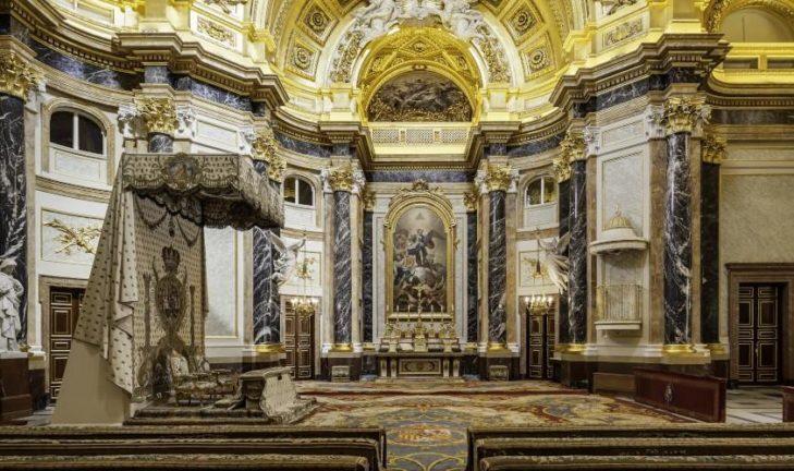 Capilla del Palacio Real © Patrimonio Nacional